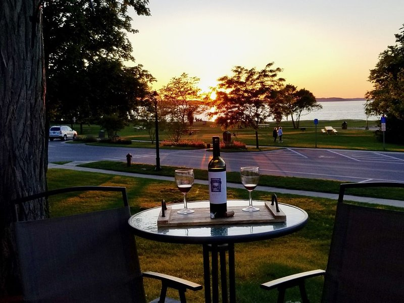 Beach Front Rental With Tennis Courts And Playground Directly In Front Of House, vacation rental in Antrim County