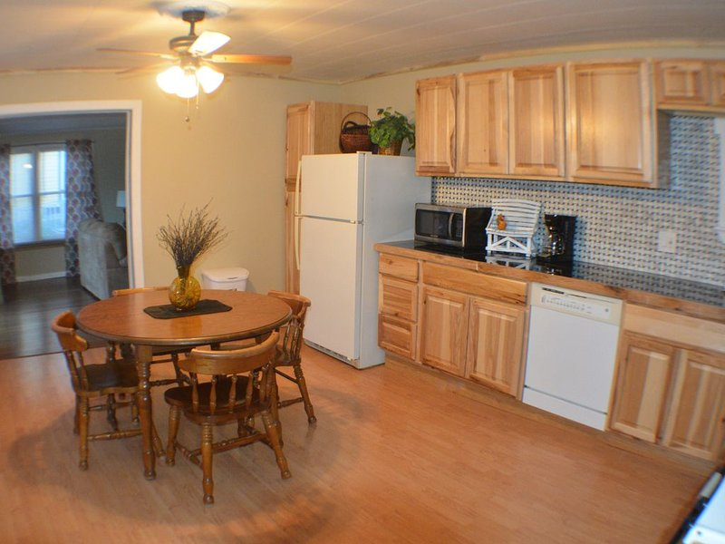 NEWLY RENOVATED SLEEPS 2-4.... Kitchen all new,  large living room,, holiday rental in Davenport Center