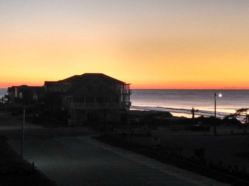 Les vues sur le lever du soleil sont magnifiques tous les matins