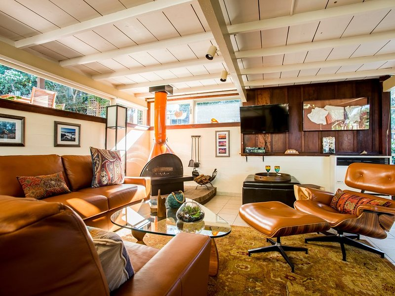 Relax in the timeless craftsman charm of the  living room.
