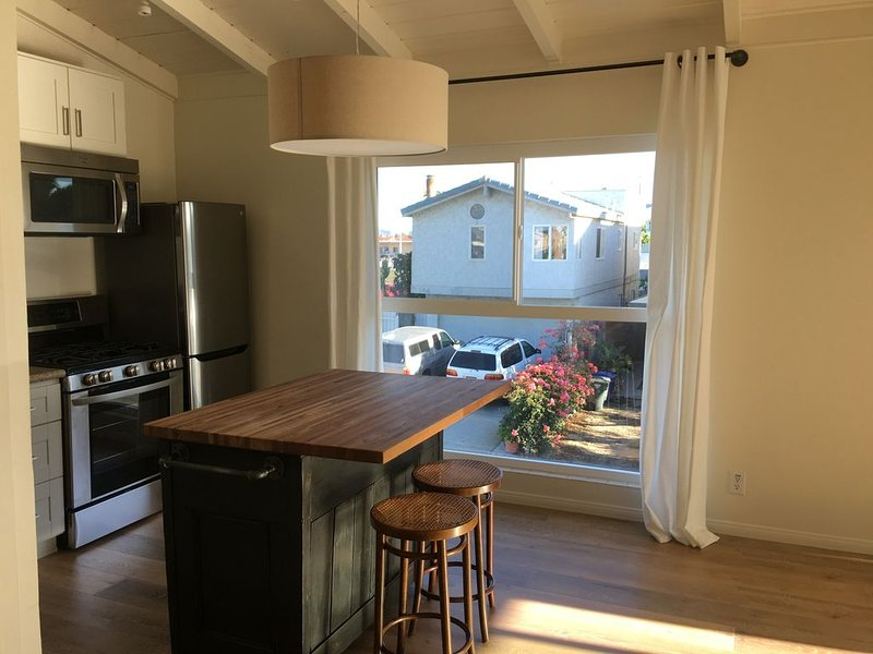 Mid Century Beach Studio, Love Shack,  completely remodeled, upstairs, view, holiday rental in Port Hueneme