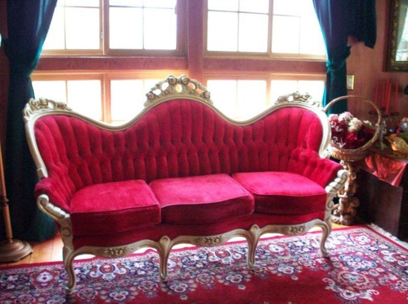 Sit and relax in the beautiful parlor