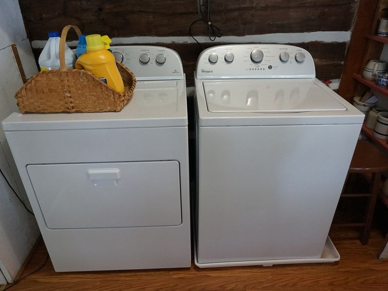 Washer and dryer onsite