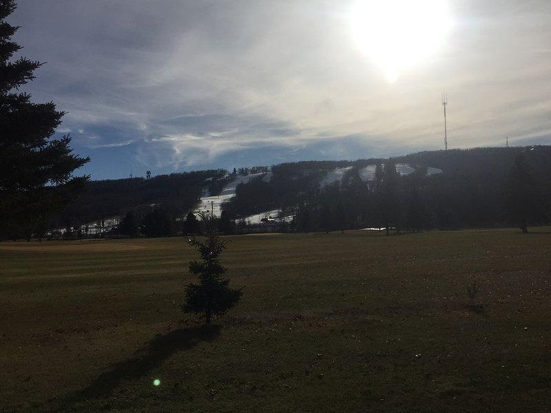 Vista de Rib Mtn en su camino a casa.