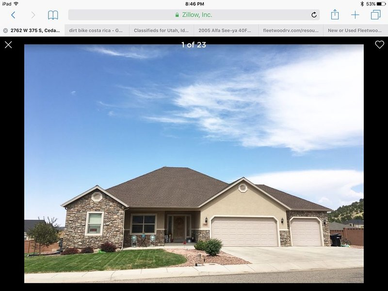 Large and Spacious for your family, holiday rental in Cedar City