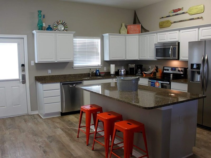 Beach side view with all the conveniences of home in this stunning rental, holiday rental in Corpus Christi