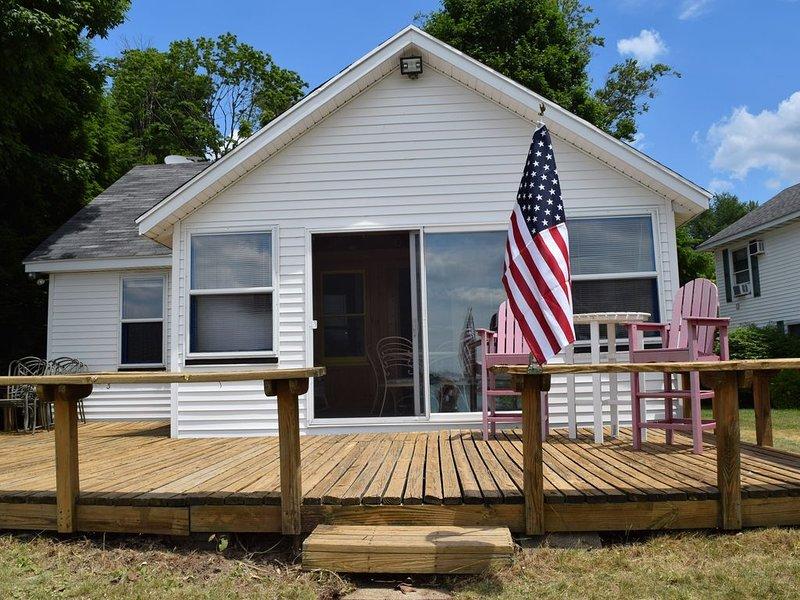 Diamond Lake Island Cottage, casa vacanza a Cass County
