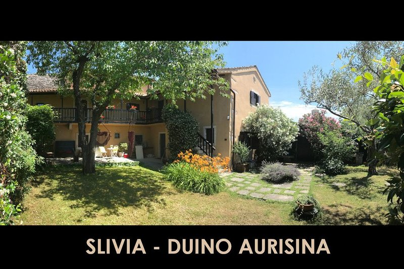 A spacious historic 3 Bedroom Villa minutes from beach and Duino Castle, holiday rental in Komen