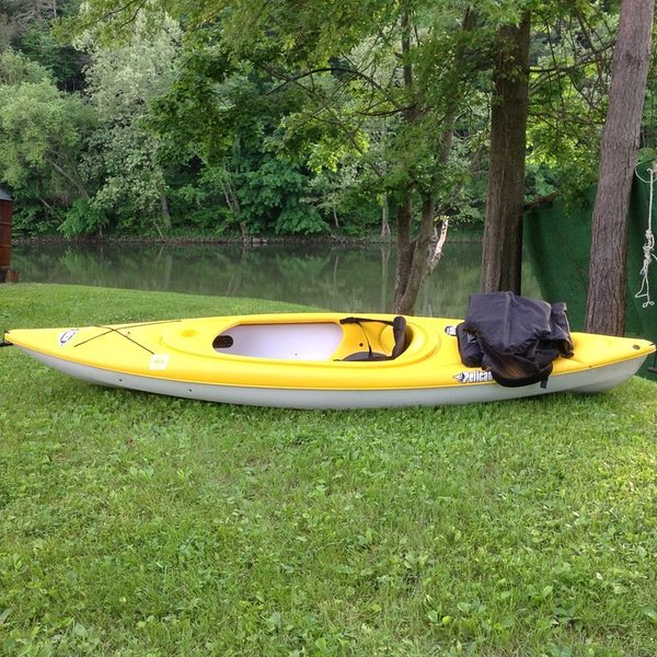 Bring your own kayak. It is a great way to explore the creek