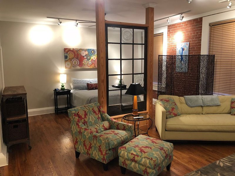 Loft in the Heart of Downtown Greenville, vacation rental in Greenville