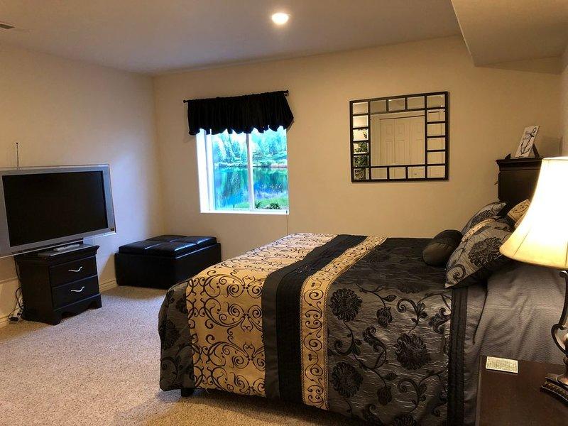 Bedroom 1 with Queen Sleep Number bed