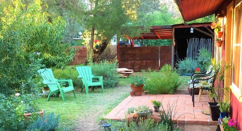 Détendez-vous sur votre patio privé