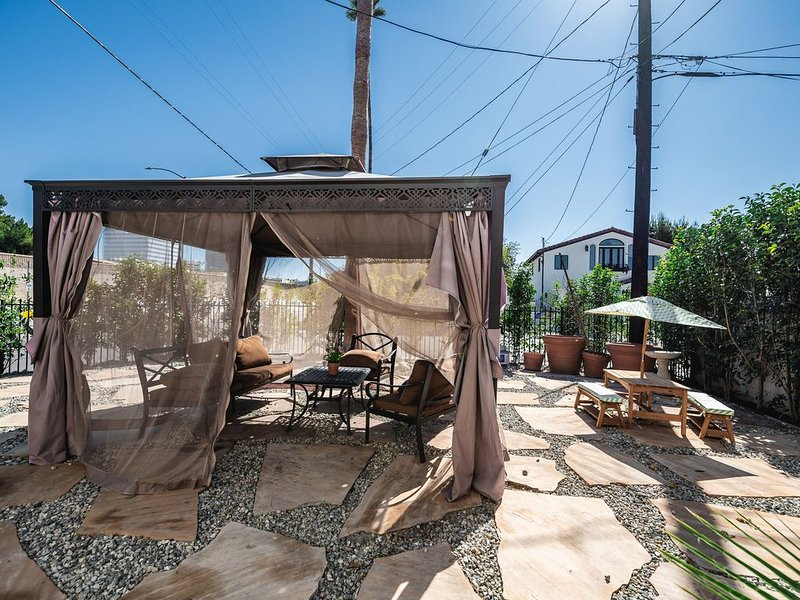 50/50: Enjoy California weather in the backyard!