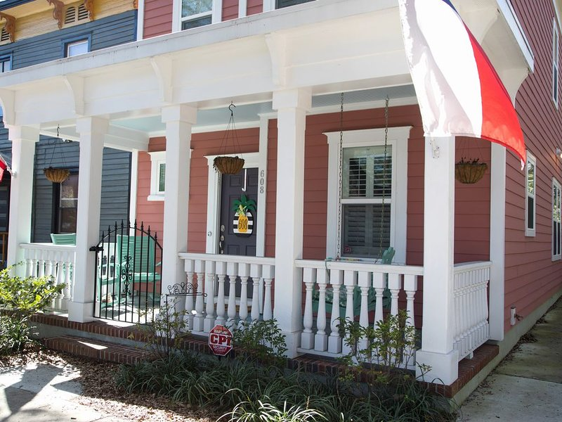The Clubhouse New Construction Historical Downtown Wilmington Antique District, vacation rental in Wilmington