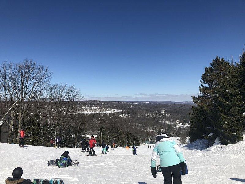 Enjoy great views and skiing at Camelback mountain!