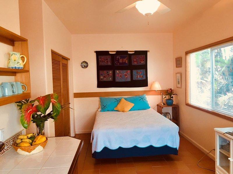Sweet and Cozy Hilo Studio - New listing, alquiler de vacaciones en Hilo