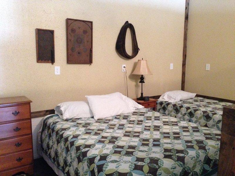 Spacious Norfork Lake /AR Ozark Mountain view bunkhouse.  Sleeps 9, full kitchen, vacation rental in Henderson