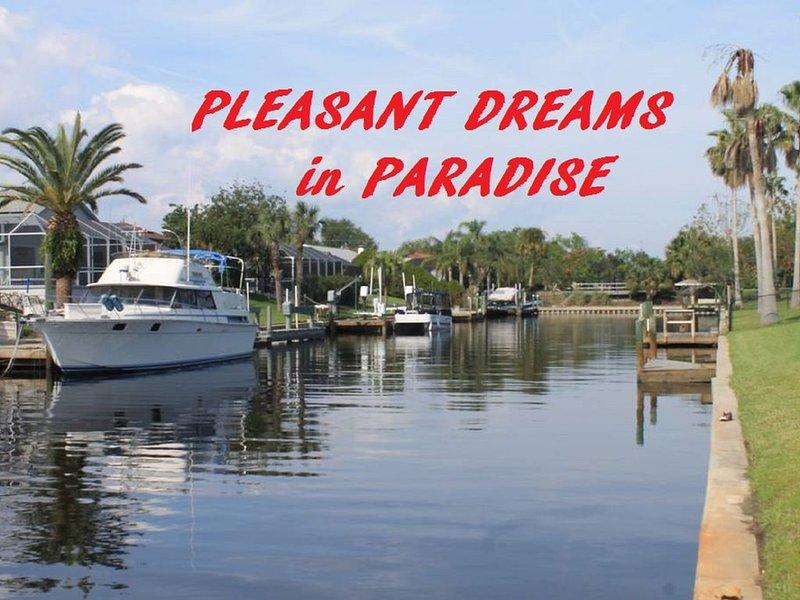 Incredible Water Views., location de vacances à Palm Coast