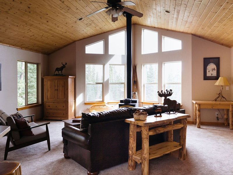 5 Bedroom Home w/ Mountain views at The Starry Sky Lodge near Breckenridge!, holiday rental in Fairplay