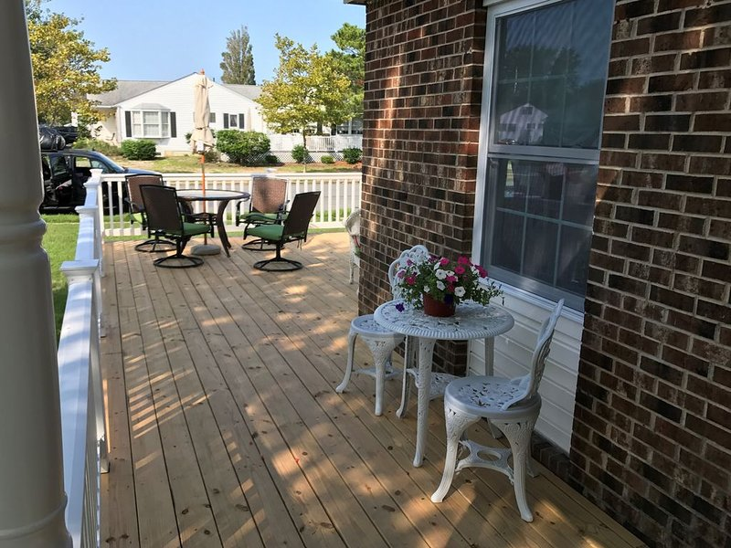 Beautiful corner property with cozy beach vibe., holiday rental in Cape May