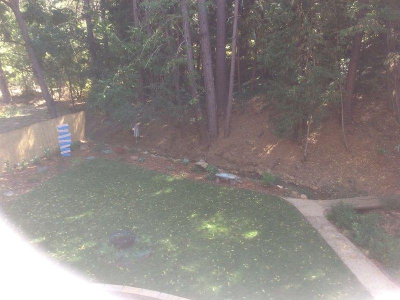 Vista desde el patio de tu terraza
