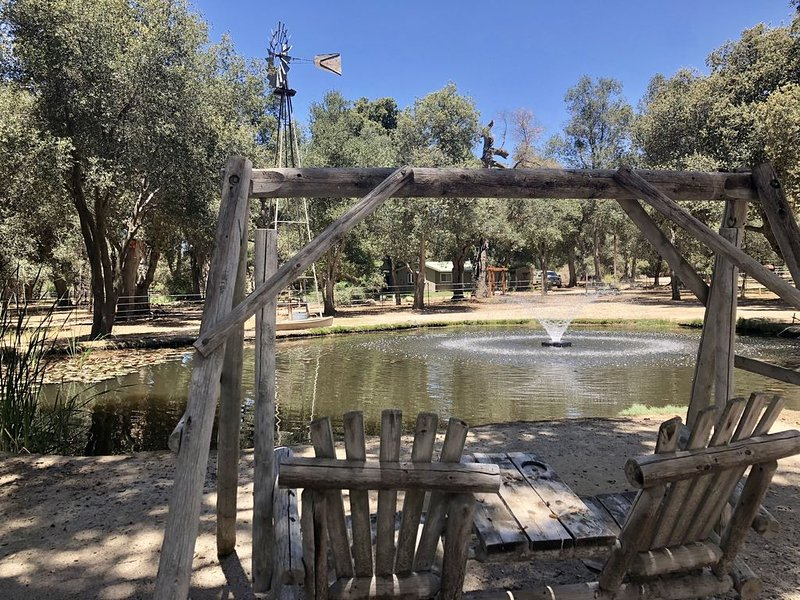 Secluded rental on 40 acre ranch., holiday rental in Palomar Mountain