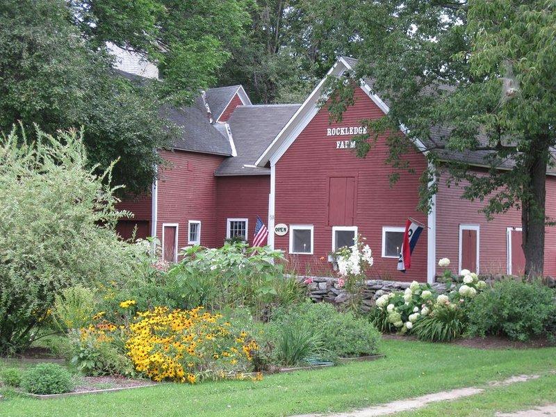 Rockledge Farm country living, location de vacances à North Springfield