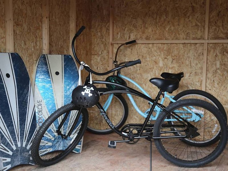 Bikes and Boogie boards
