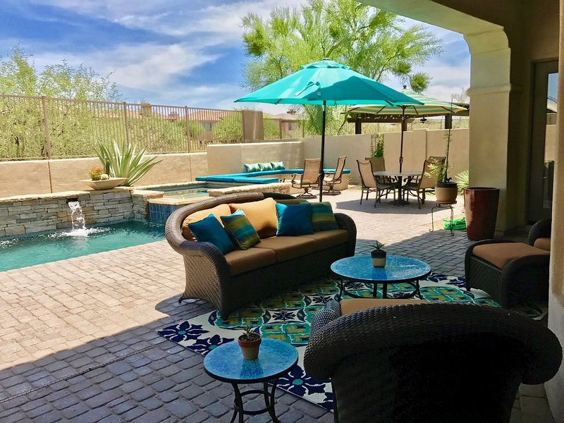 Upscale Casita with resort-like comforts & privacy in North Phoenix/Scottsdale, vacation rental in Cave Creek
