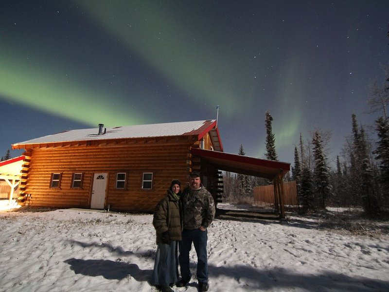 Alaska Aurora Adventures  Aurora Cabin A World class Northern lights viewing, holiday rental in North Pole
