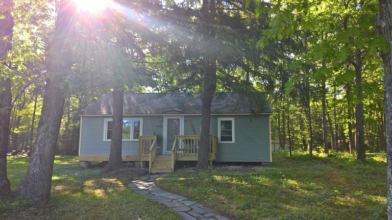 Twin Pines Cottage, a cozy and relaxed vaction awaits, holiday rental in Bear Creek