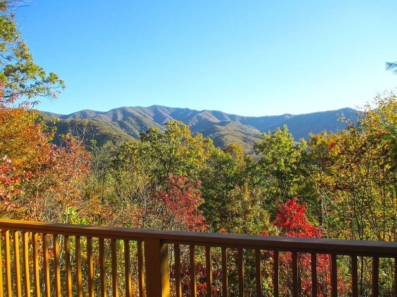 Beautiful Vacation Mountain Vista Cabin in Western North Carolina, alquiler de vacaciones en Robbinsville
