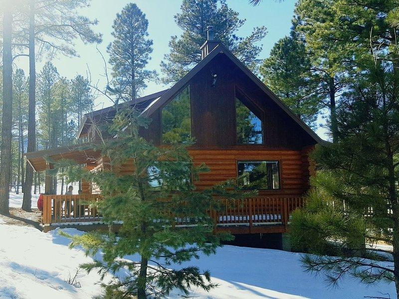 Amazing view Log Cabin, alquiler vacacional en Alpine