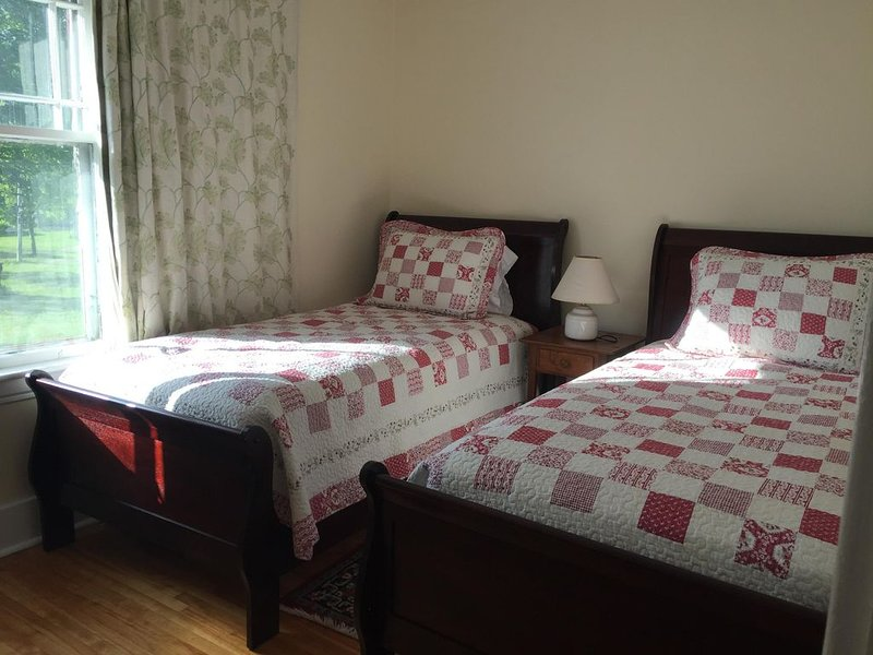 The double twin bedroom