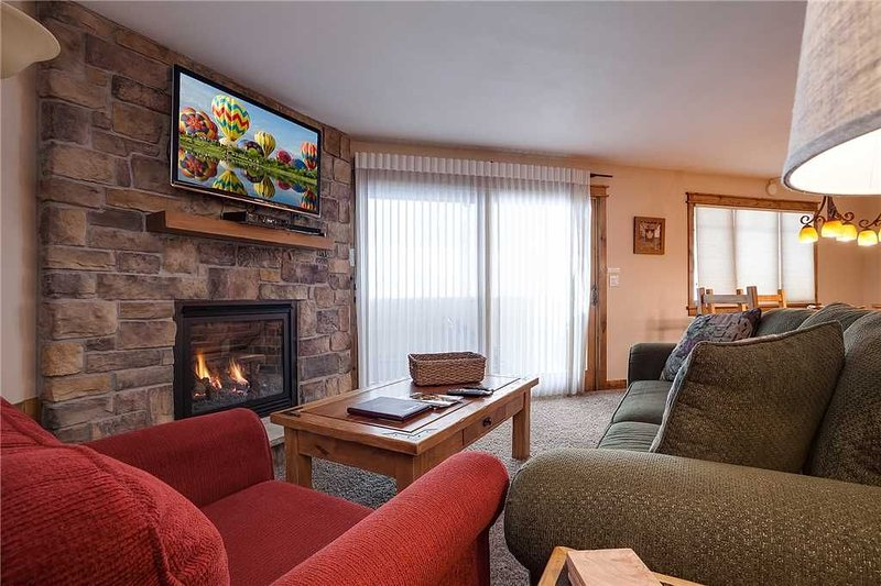 Cozy Living Area with Gas Fireplace