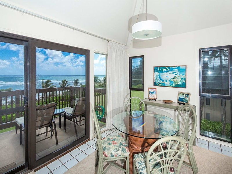 Life's a Breeze! Epic View+Kitchen, WiFi, Ceiling Fans, Flat Screen–Kaha Lani 31, aluguéis de temporada em Lihue
