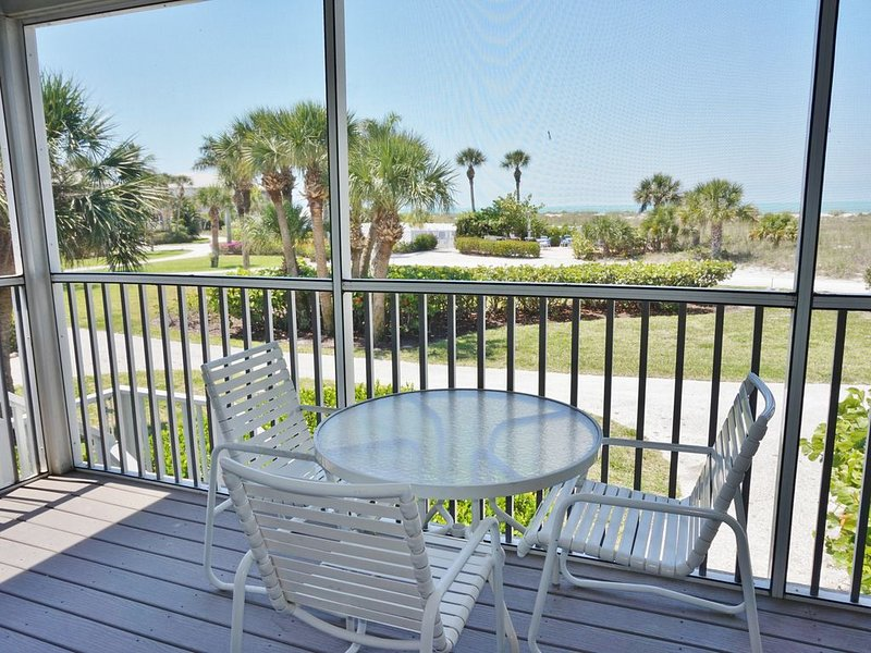 Feel Right at Home! View of the Gulf easy access to Pool and Beach!  A3611A, vacation rental in Englewood