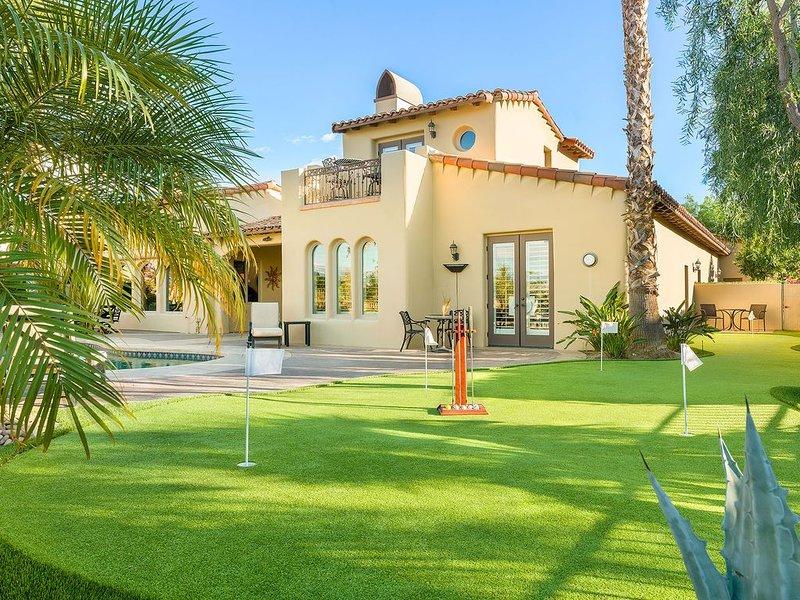 'Barcelona' 5BR / 5 BA, PGA West, Private Pool, Sleeps 12, holiday rental in La Quinta