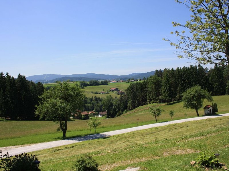 Beautiful holiday home on a farm in the Bavarian Forest with a great view., holiday rental in Lower Bavaria