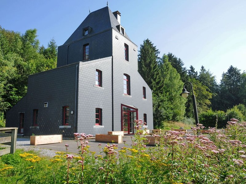 Holiday home in the middle of the forest, ideal for a family reunion, location de vacances à Sainte-Ode