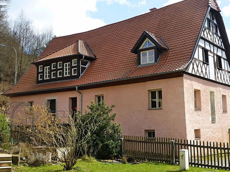 Holiday in a historical building in the heart of the Franconian forest., location de vacances à Franconia