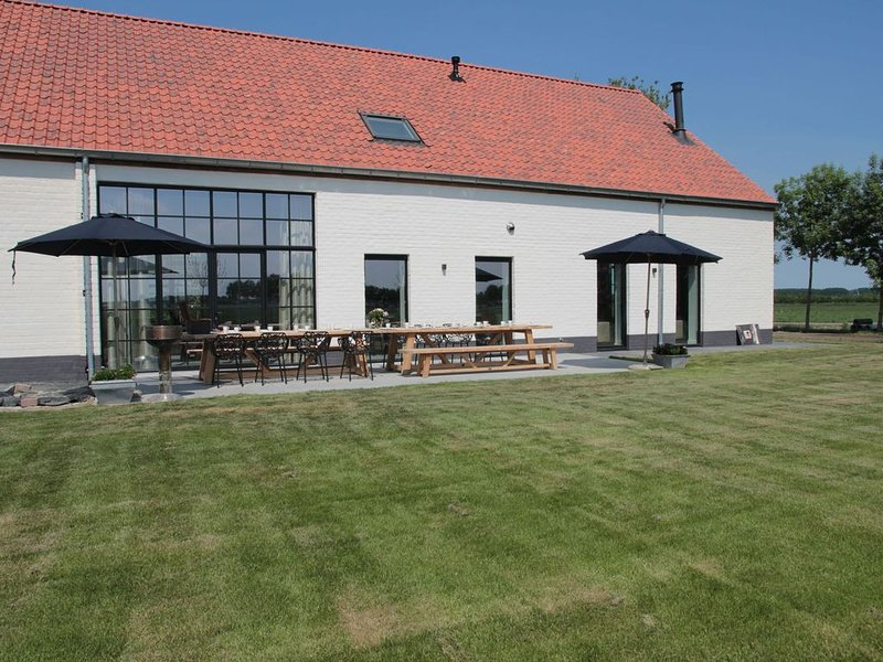 Elegant Farmhouse in Zuidzande with Private Garden, vacation rental in Oostburg