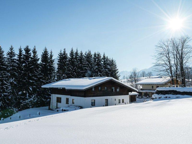 Classic Apartment near Flachau Salzburg with Mountain View, holiday rental in St Martin am Tennengebirge