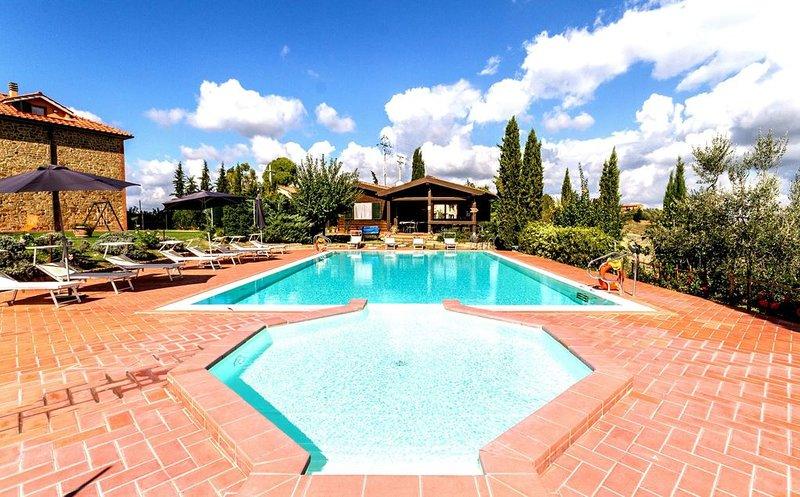Residence a Sughera con 2 camere da letto e 6 posti letto, location de vacances à Castelfalfi