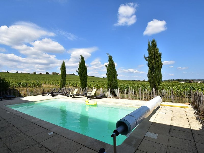Vintage Farmhouse in Vinzelles with Pool & Centre Nearby, holiday rental in Chaintre