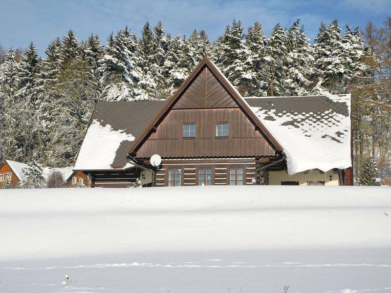 Modern Cottage near Ski area in Stupna Czech Republic, alquiler vacacional en Kuks