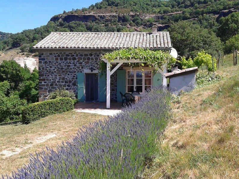 Beautiful Holiday Home in Saint-Pons near Forest, location de vacances à Villeneuve-de-Berg
