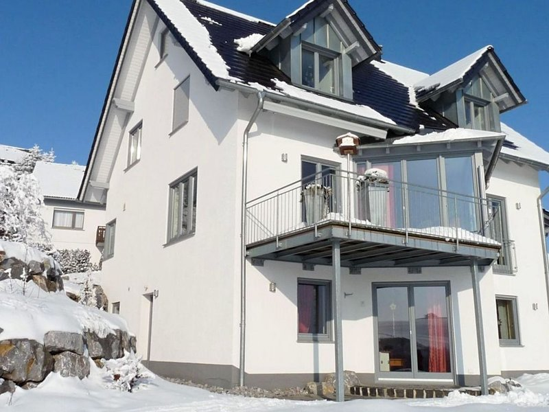 Charming Apartment in Düdinghausen with Terrace, location de vacances à Korbach