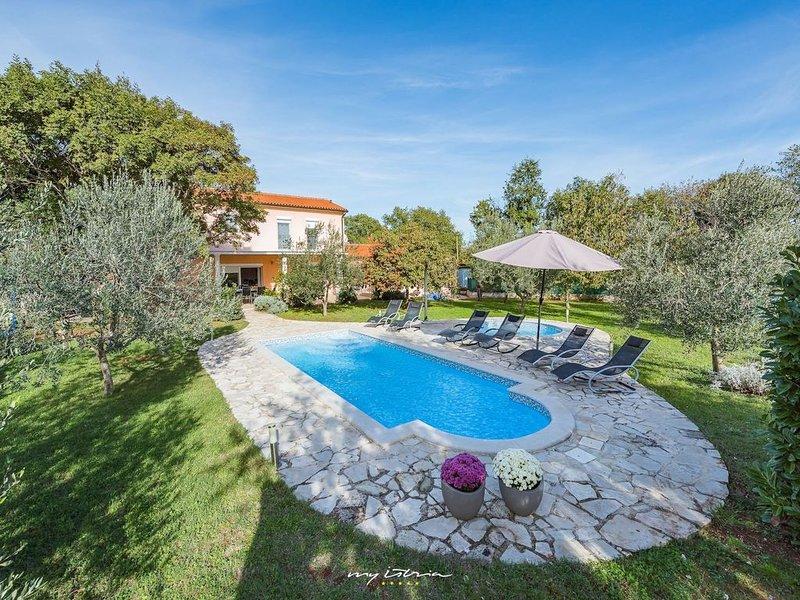 Villa with private pool near Duga Uvala beaches, holiday rental in Pavicini