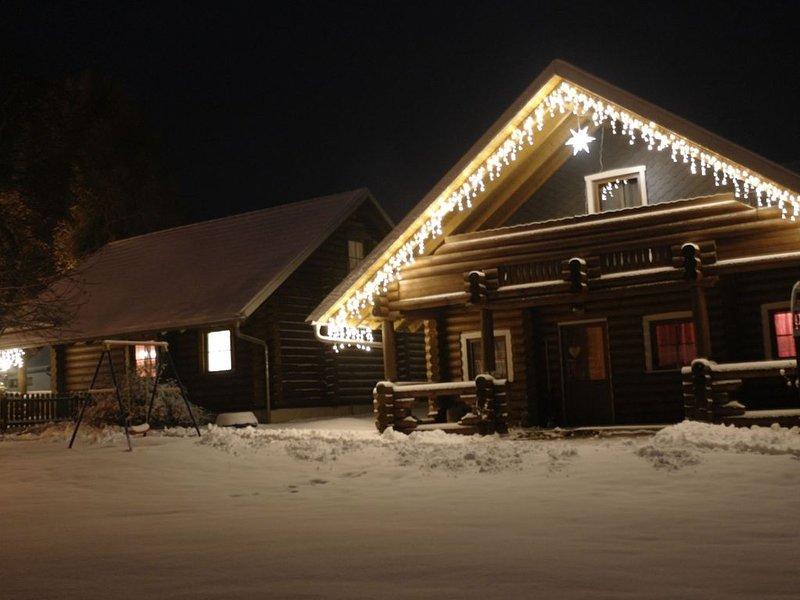 Exterior da casa de férias [inverno]